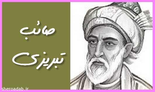 دل که رنجید از کسی خرسند کردن مشکل است – صائب تبریزی